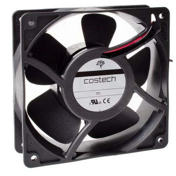 D08A04HWBAF0 DC Axial Compact Fan IP55 80x80x25mm 66m³/h 3w 12V Ball Bearing