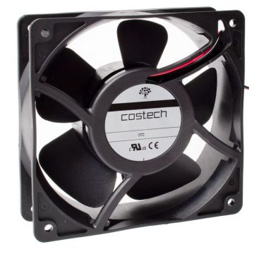 D04E05HWHT00 40x40x10mm compact axial fan 24Vdc, High Speed, Wired, Hypro Bearing