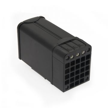 HTM060 60 Watt Enclosure Heater. 265V Max. Terminal Block IP20 Cage Clamp - Metal Housing