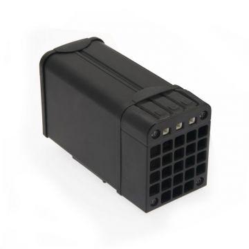100W Metal Housing Enclosure Heater110-240V ac/dc