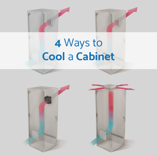 4 Ways to Cool a Cabinet