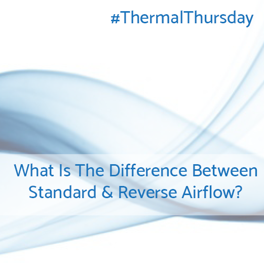 What is the difference between standard and reverse airflow?