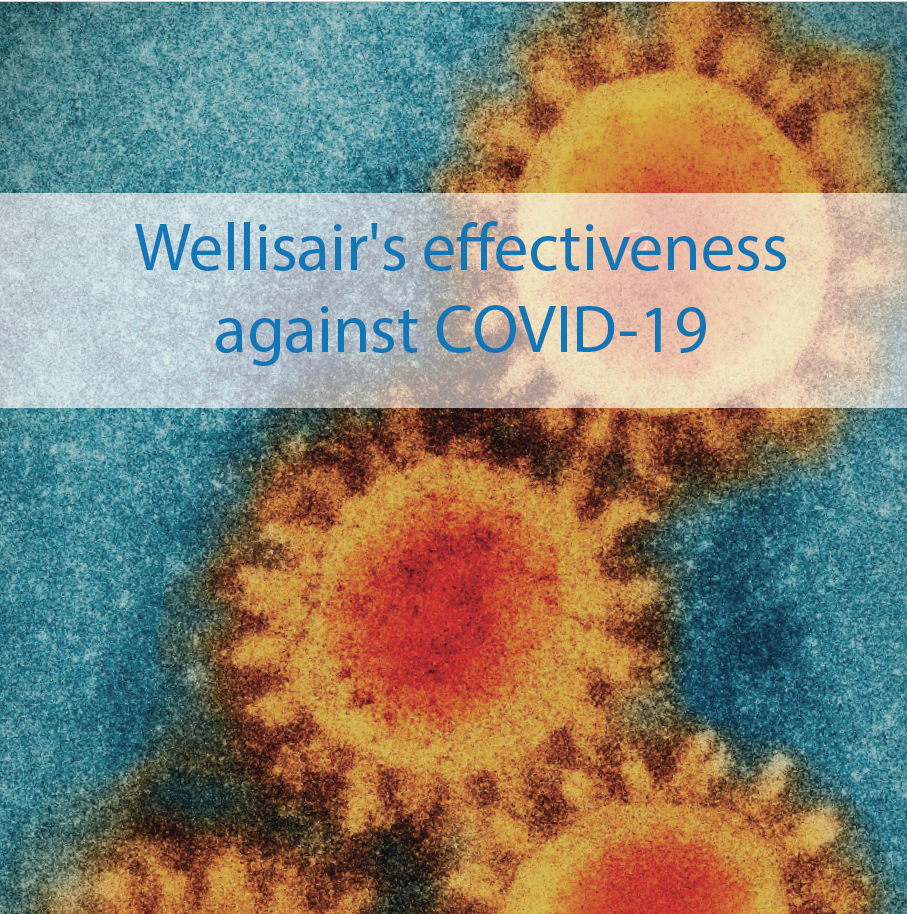 Wellisair's effectiveness against COVID-19 Coronavirus