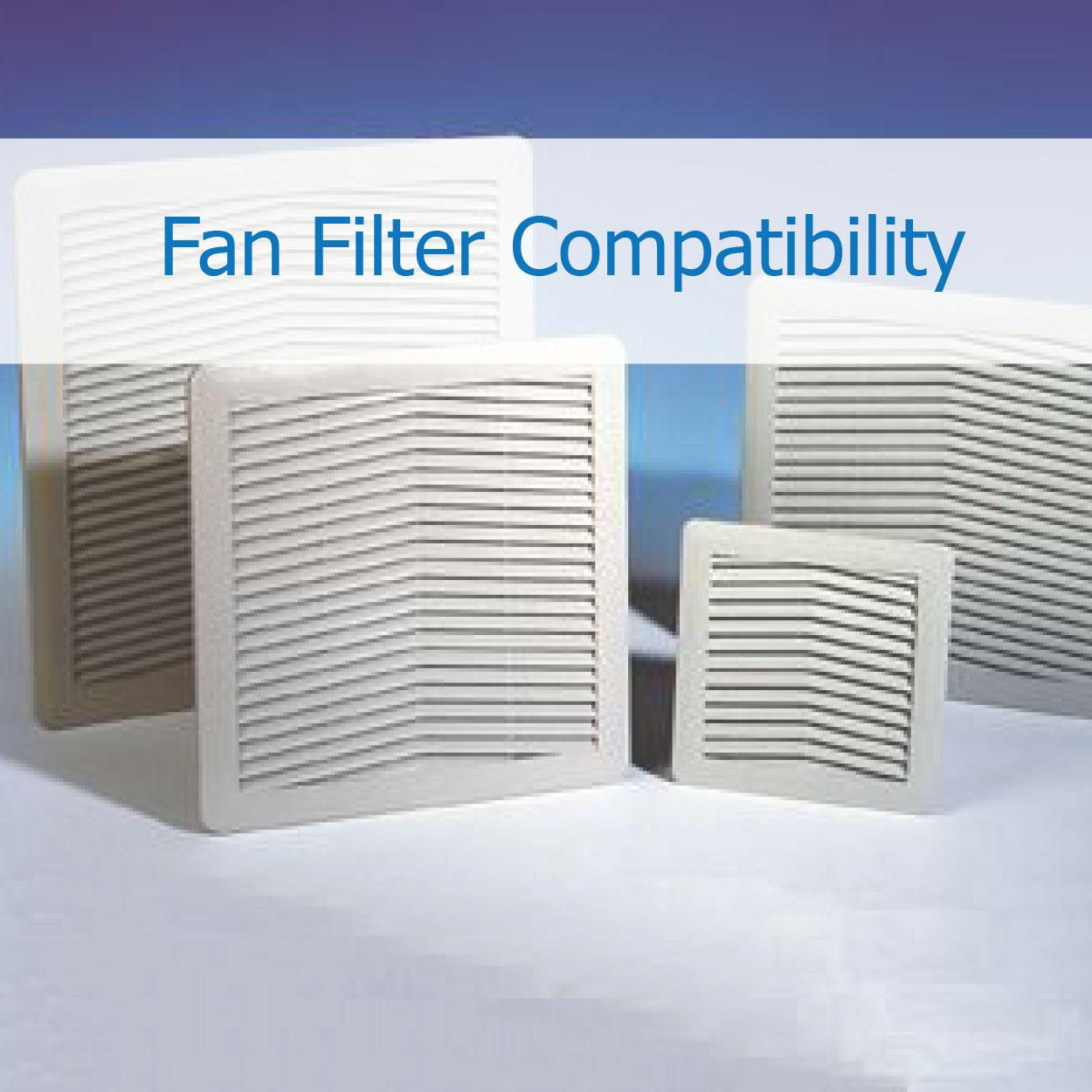 Filter Fan Compatibility - Industry Standard Sizes