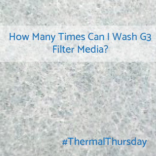 How Many Times Can I Wash the Filter Media in a Fan Filter Unit?