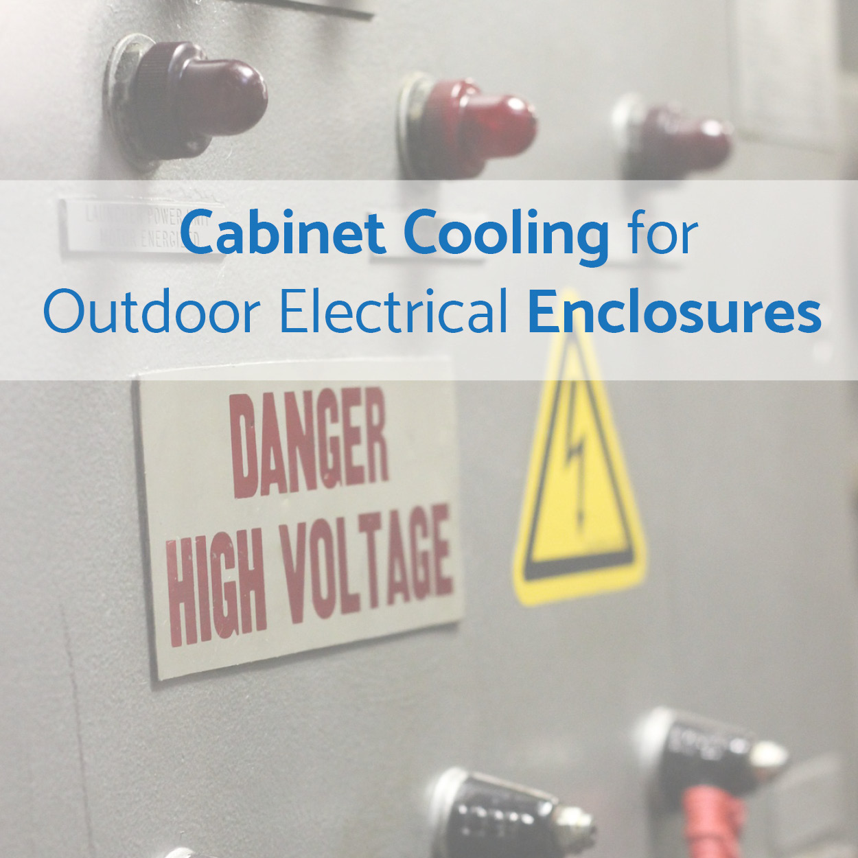 Cabinet Cooling For Outdoor Enclosures