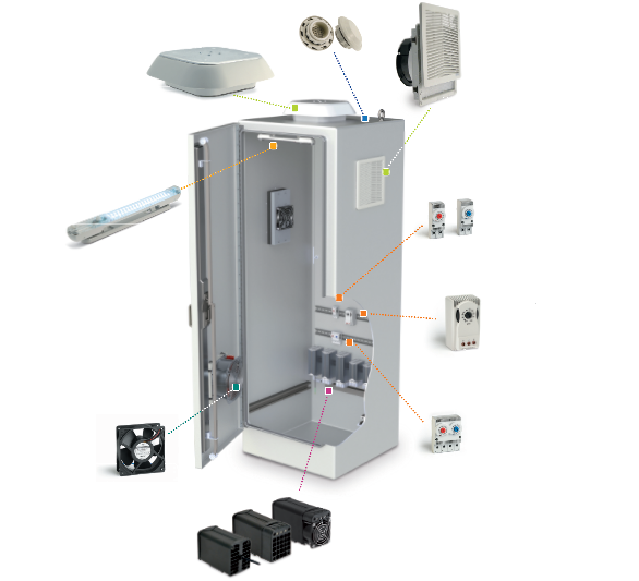 Enclosure Cooling Accessories Axair Online