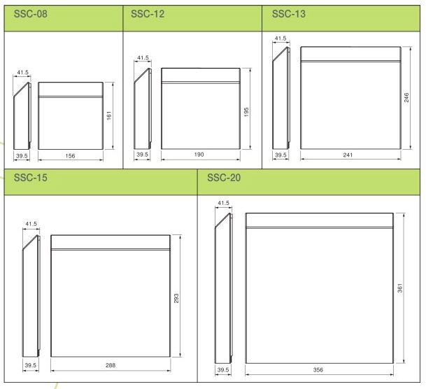 Steel Filter Cover Dimensions Axair Online